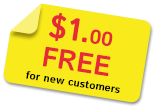 $1.0 in free calls for new customers